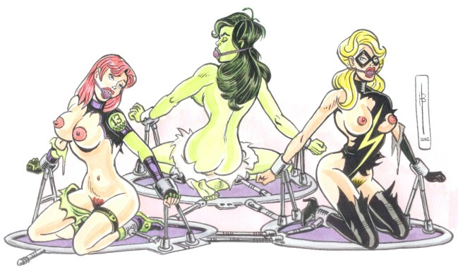 hulk she to mary jane Anime elf girl with brown hair