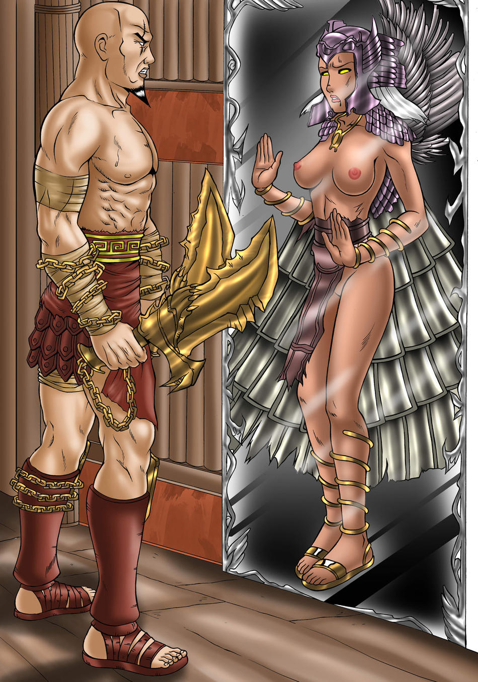 who is of war faye god No nut november destroy dick december
