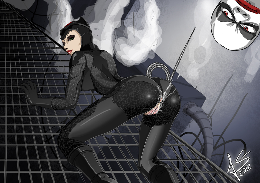 batman in arkham to get catwoman how city U-101 azur lane