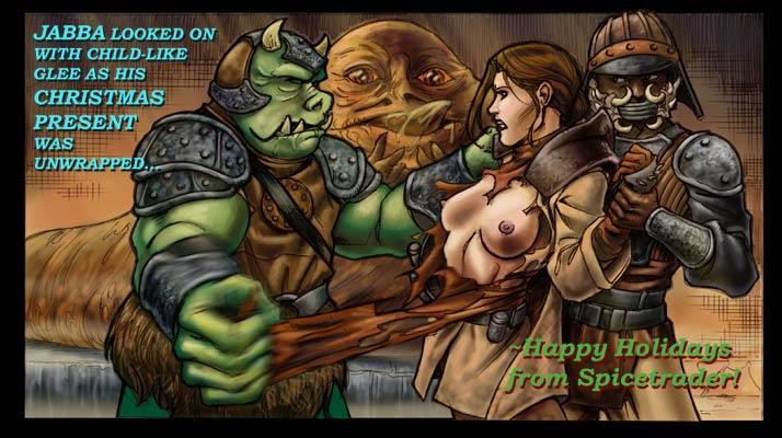 and leia jabba World of final fantasy serafie