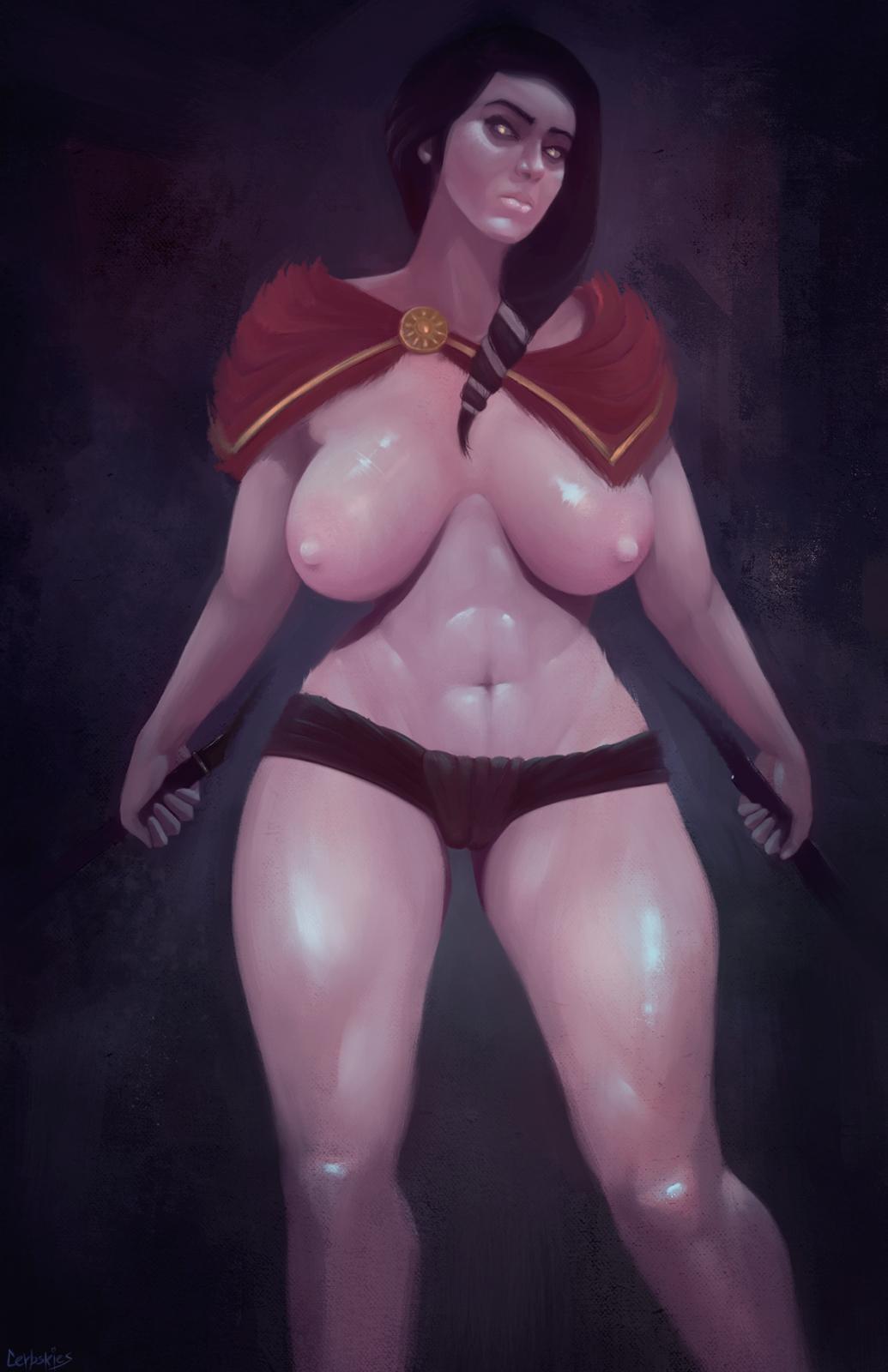 kassandra odyssey assassin's creed naked Breath of the wild laflat