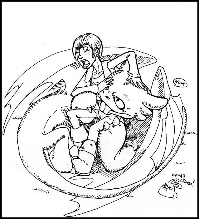 hentai how train your dragon to Himawari to koi no kioku