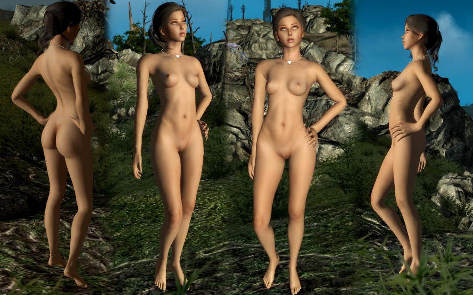 nude mod female 4 fallout Wild west c.o.w. boys of moo mesa