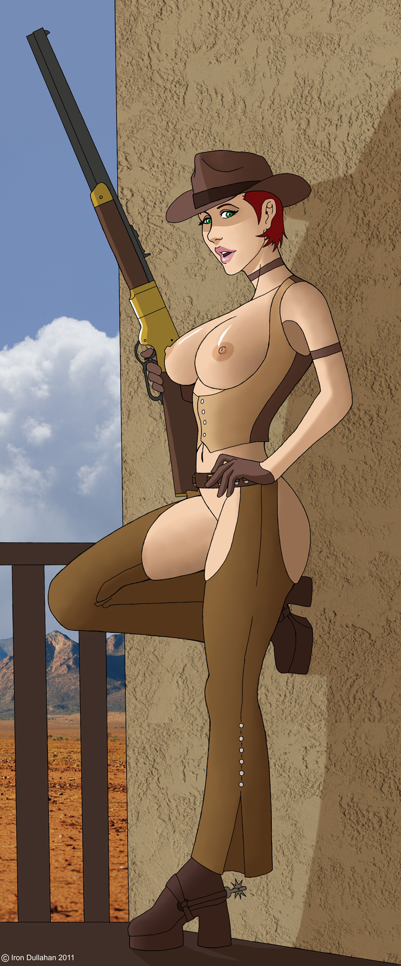 armor new ares fallout of daughters vegas Wolf guy: ookami no monshou