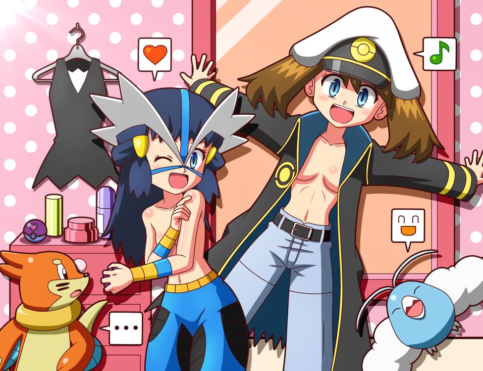 lemon human x fanfiction pokemon Kimi ni semaru otome no lesson