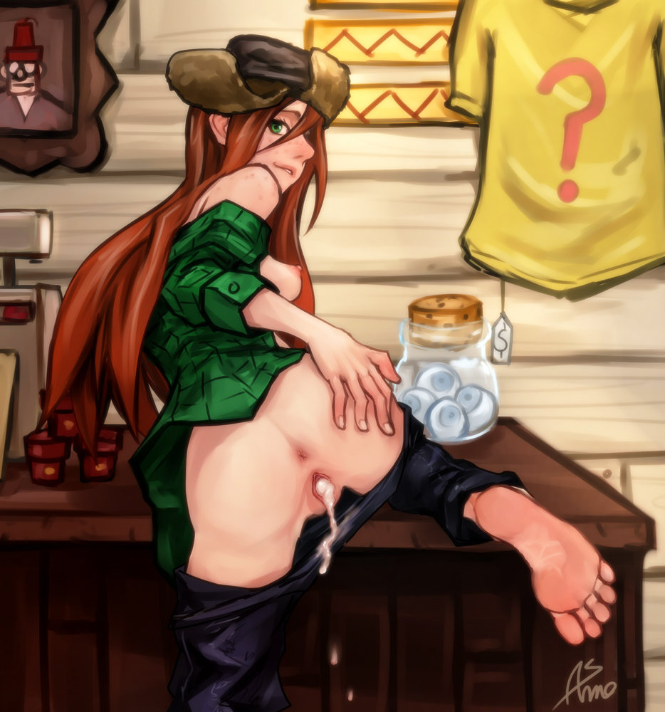 wendy old falls how gravity in is Phoenix wright ace attorney porn