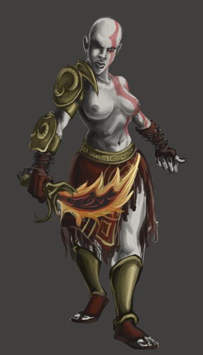 princess of poseidon's god war R/boku no hero academia