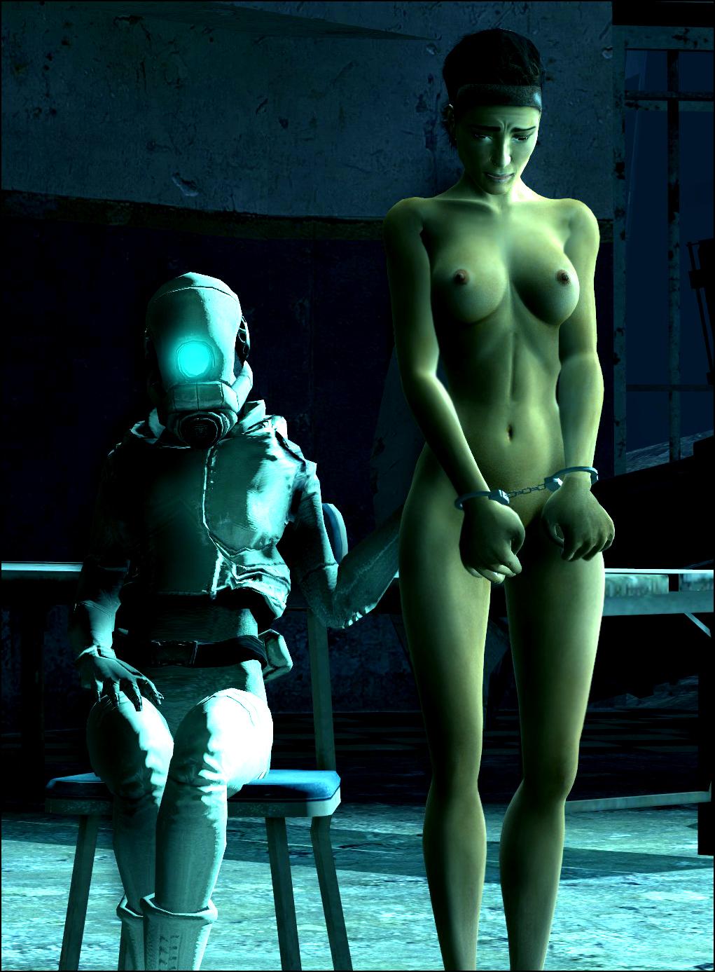 2 strider half-life Korra and asami
