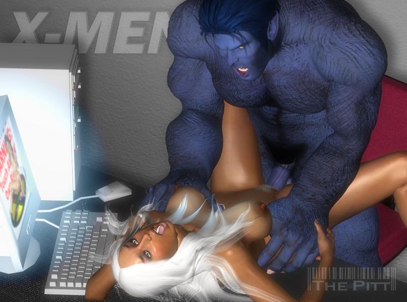 storm x-men anime Arpeggio of blue steel kongou