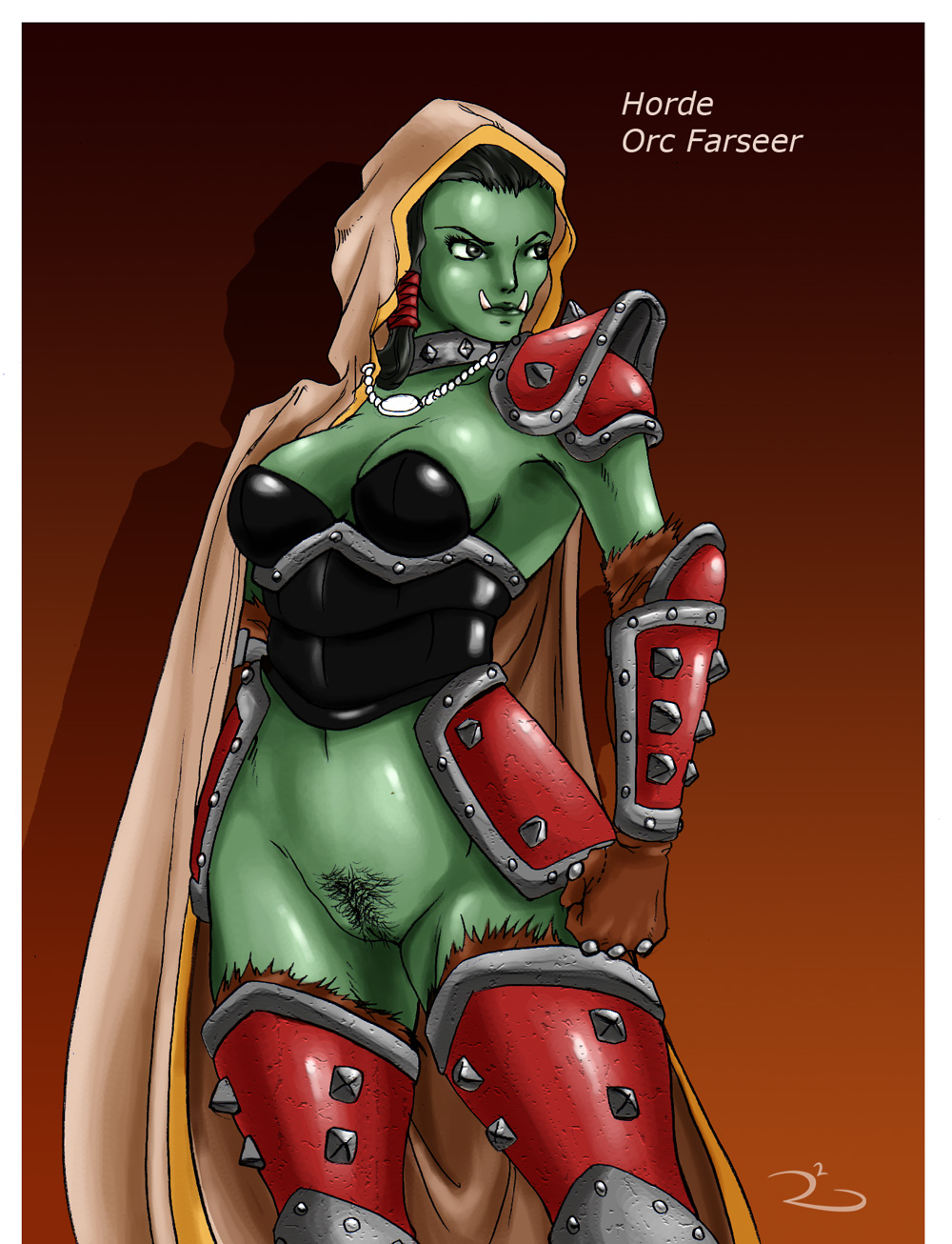 world orc of warcraft female Sheri moon zombie harley quinn