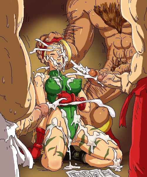 poison street fighter 3d cartoon of girl taking huge horse cock