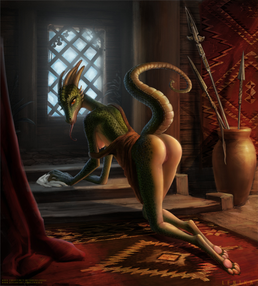 lusty maid argonian Negligee: love stories cg