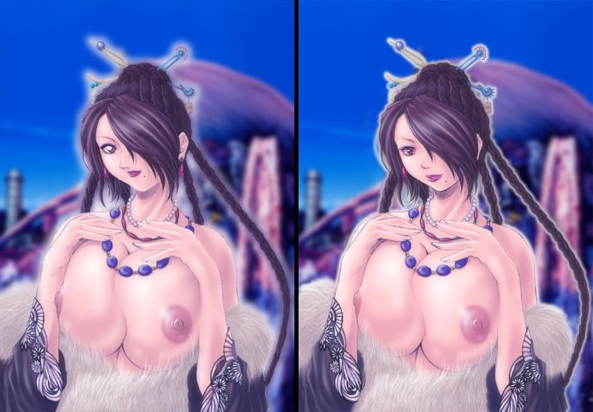 yunalesca x fantasy lady final Kingdom hearts who is aqua