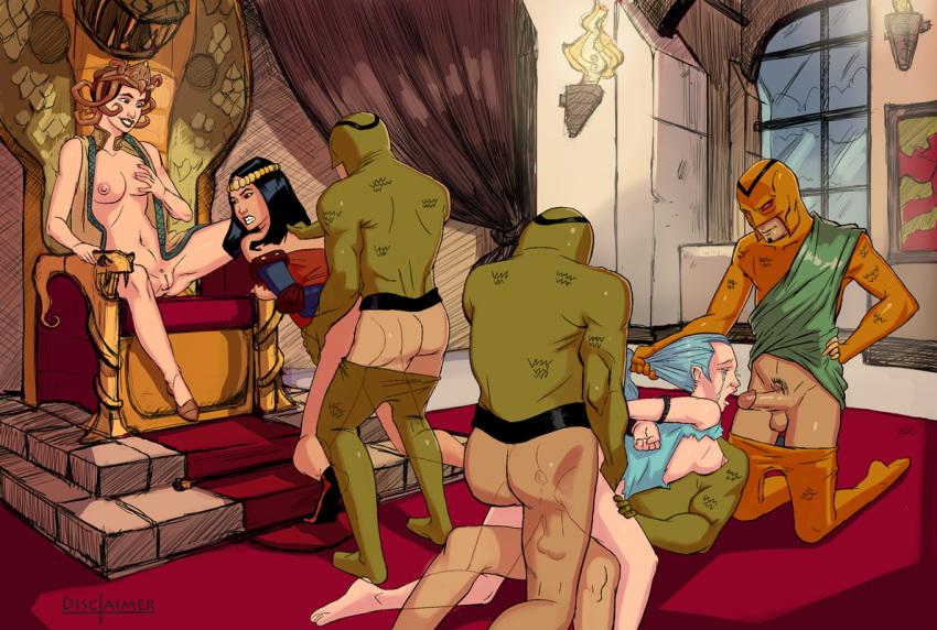 monsters tina gods justice league and Harry/fleur/tonks fanfiction