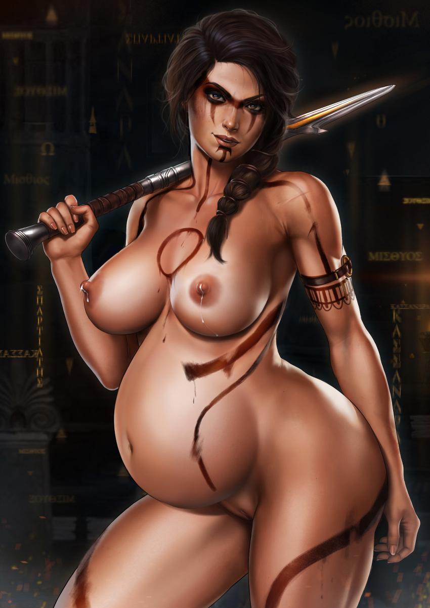 kassandra odyssey assassin's naked creed Vanilla the rabbit x human