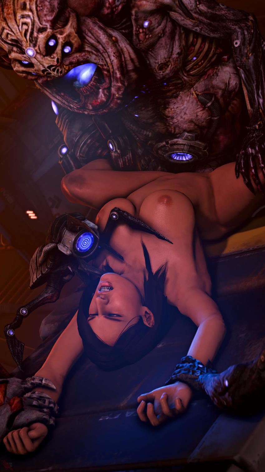 ryder mass effect sara porn No game no life shrine priestess