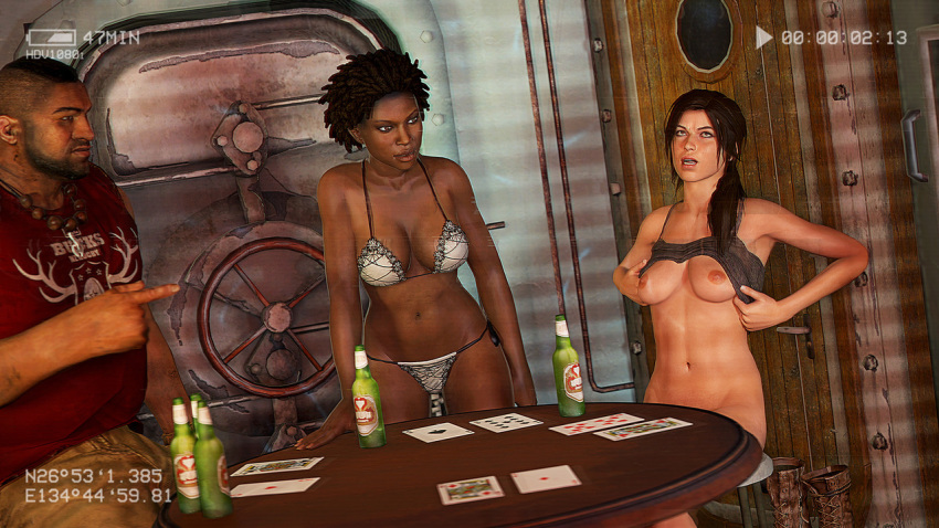 of rise tomb raider the ana Catherine full body rin trap