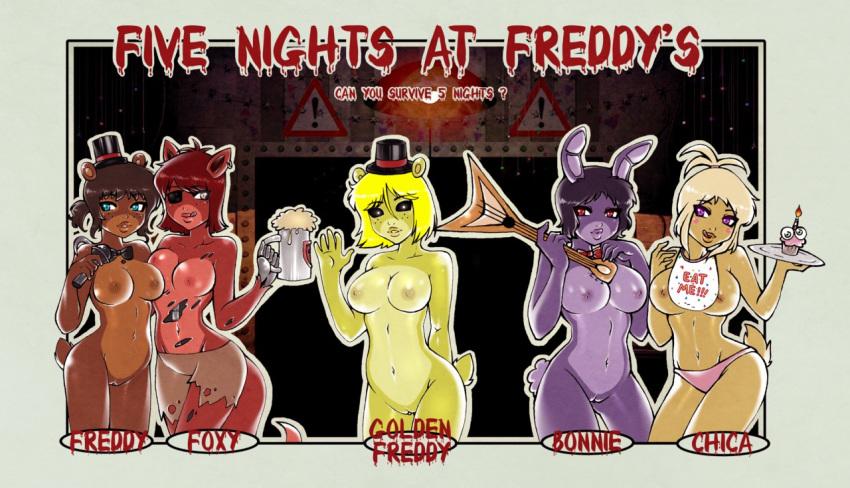 five freddys nights at foxy Kuroinu: kedakaki seijo wa hakudaku ni somaru