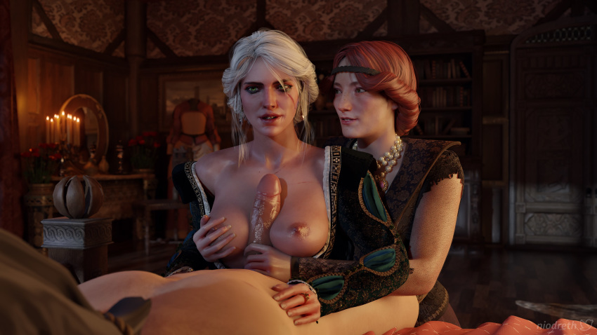 witcher 3 triss nude the Mania secret of the green tentacles
