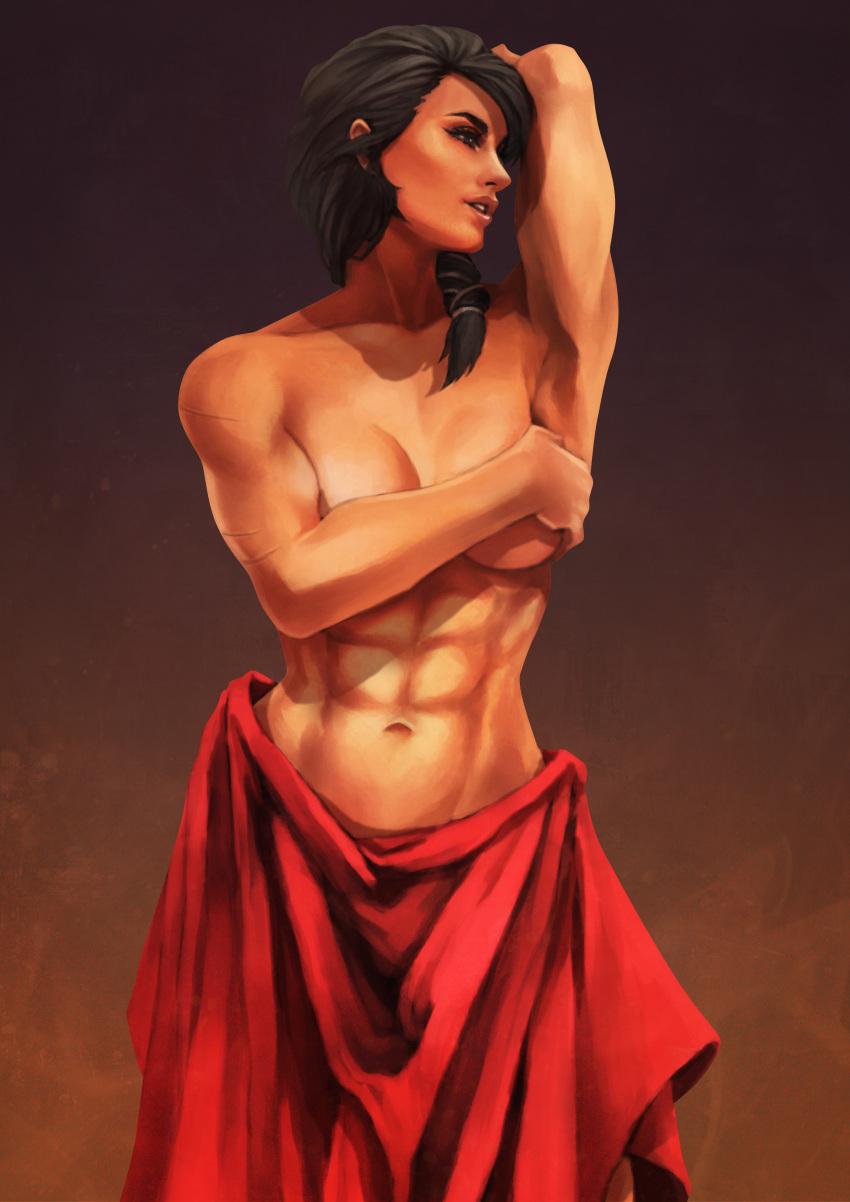 kassandra naked odyssey creed assassin's Kono naka hitori imouto iru
