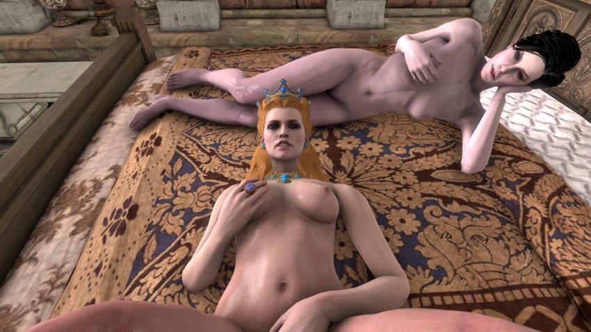 3 henrietta anna the witcher Sexy naked peach in quicksand