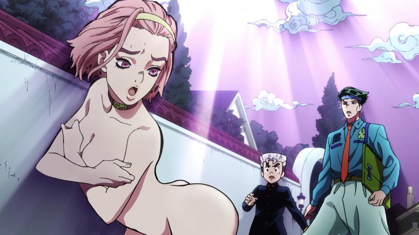 adventure jojo's edited bizarre re Ashley williams mass effect naked