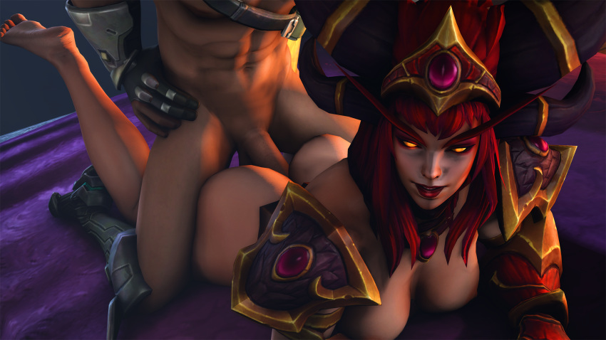 the storm of heroes alexstrasza Gary and his demons