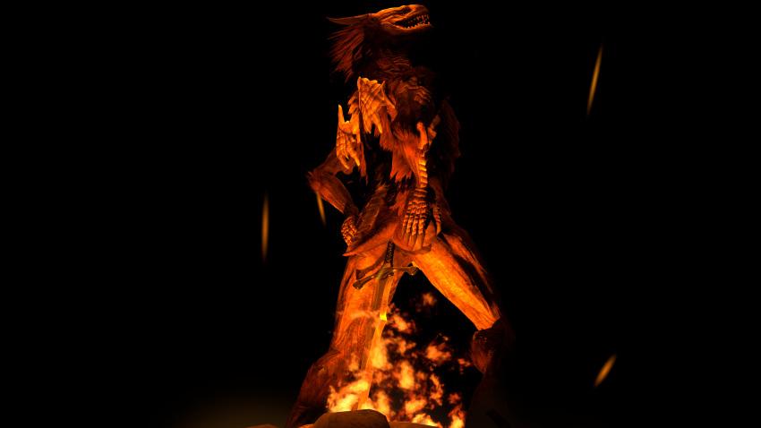 gwyndolin 3 armor souls dark Final fantasy lightning