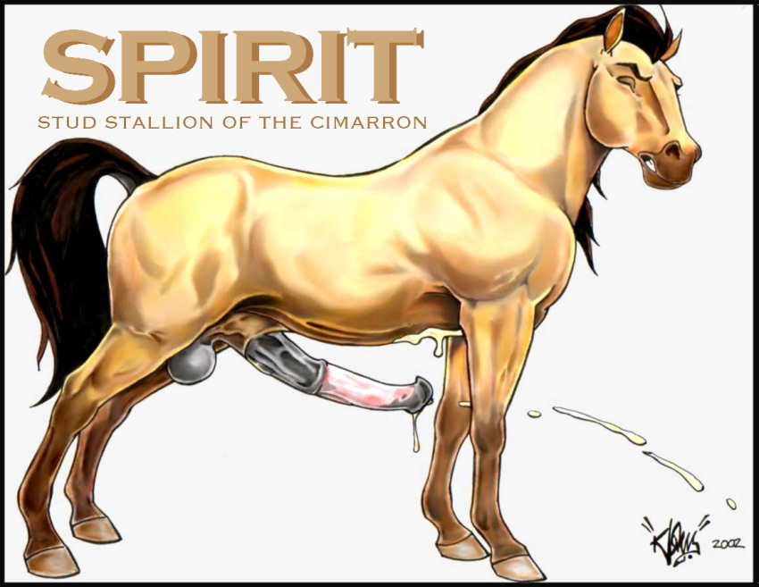 rain spirit cimarron of the stallion My name is doof and you'll do what i say whoop whoop
