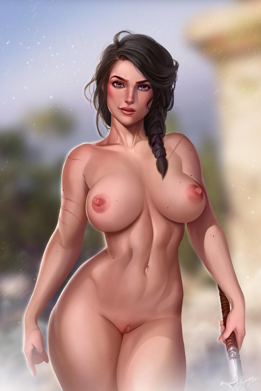 odyssey kassandra naked assassin's creed Ai yori aoshi