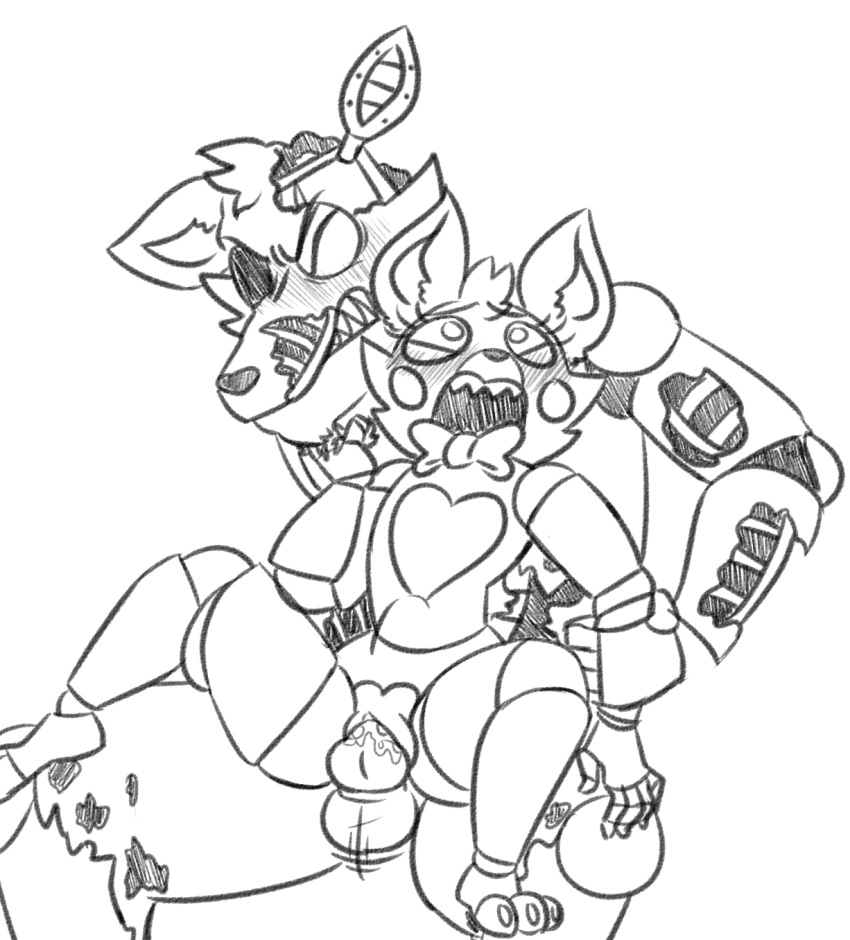 porn and mangle foxy fnaf Raiders of the broken planet alicia